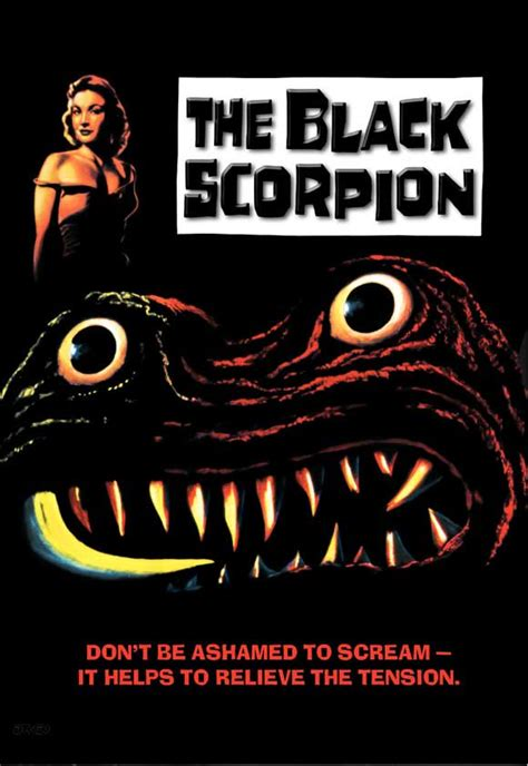 house of scorpion movie peter s retro rewind the black scorpion 1957