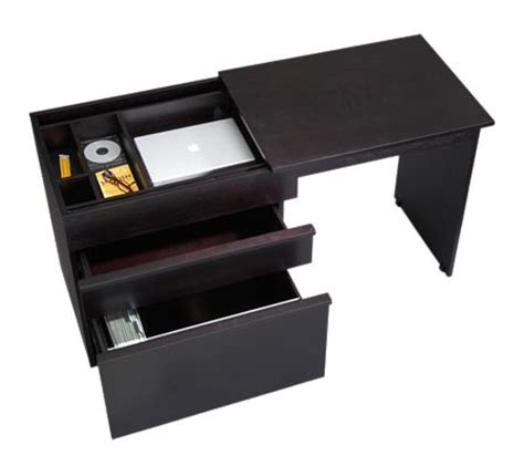 Convertible Compact Desk convertible compact desk by crate and barrel modern home