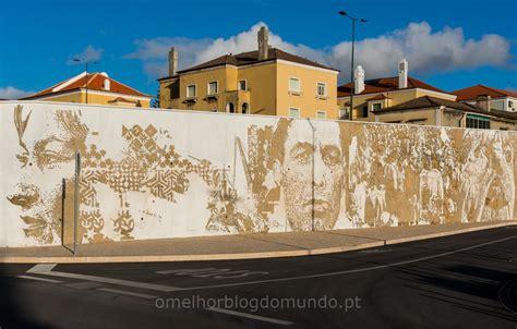 fantastico mural de vhils  barreiro  melhor blog