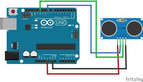 tutorial arduino  sensor ultrasonic hc sr langkah