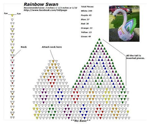 origami 3d lebada tutorial tutorial origami 3d swan