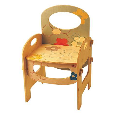sedie bambini legno dida sedia bambini legno decoro fiori giochi in