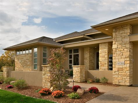 contemporary prairie style house plans 19 perfect images modern prairie style house plans home