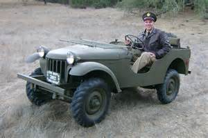 bantam replica to lead the parade at jeep heritage