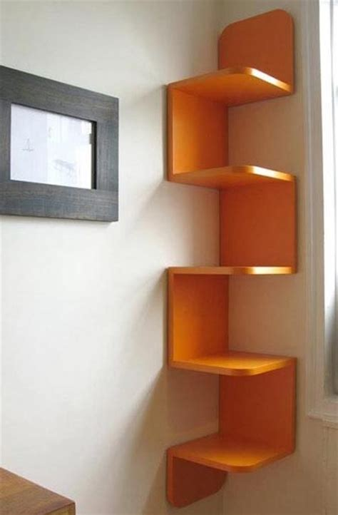 How To Make Shelf At Home by Diy Corner Shelving Paperblog