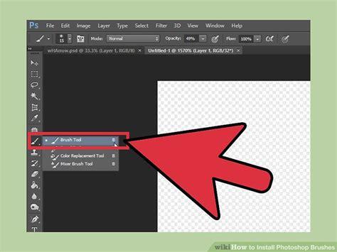 3 ways to install photoshop brushes wikihow 3 ways to install photoshop brushes wikihow