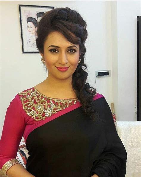 divyankana tripathy hair style 36 best divyanka tripathi images on pinterest saree