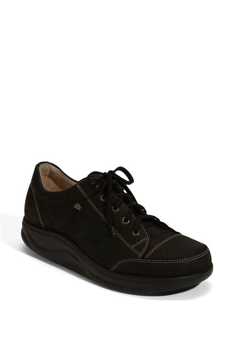 walking comfort shoes finn comfort finnamic by ikebukuro walking shoe in black