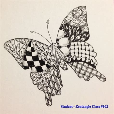 zentangle pattern for beginners zentangle patterns for beginners bing images art
