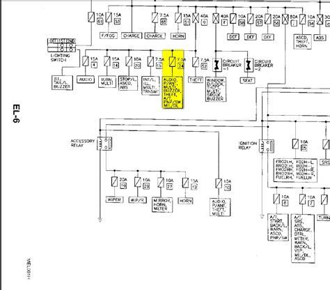 2007 Nissan Xterra Fuse Box Diagram Wiring Diagram For