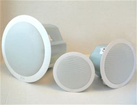 ceiling speaker cover plate high performance ceiling speakers by martin audio
