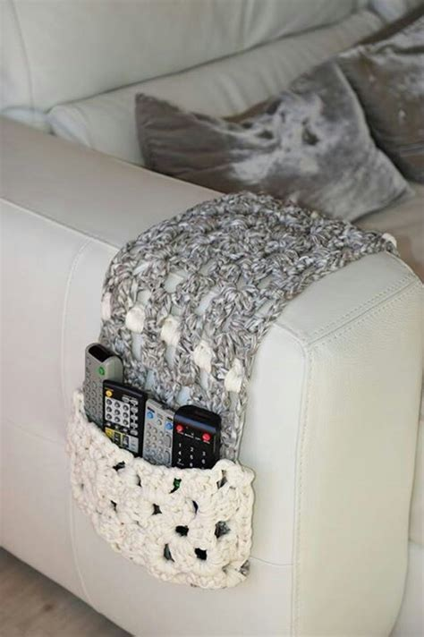 remote control holder for couch remote control couch cozy crochet home goods