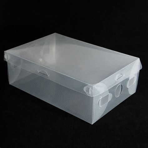 clear shoe storage boxes buy clear stackable plastic shoe storage boxes