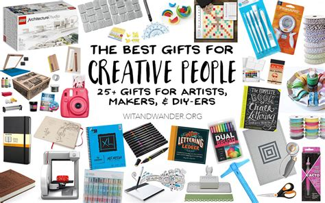 Creative Gifts For - the absolute best gifts for creative artists