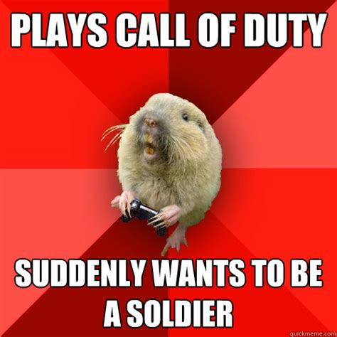 dog suddenly wants to be alone plays call of duty suddenly wants to be a soldier gaming gopher