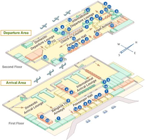 phuket airport terminal map phuket airport guide