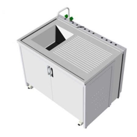 banco da laboratorio banco da laboratorio con gruppo di lavaggio e colatoio in