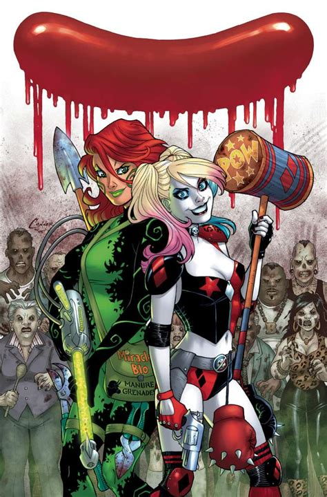 harley quinn at high dc books dc comics preview harley quinn continues heavy