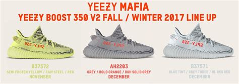 Adidas Yeezy Boost Drop Date by Release Updates On All Upcoming Adidas Yeezy Boost 350 V2 Colorways Kicksonfire