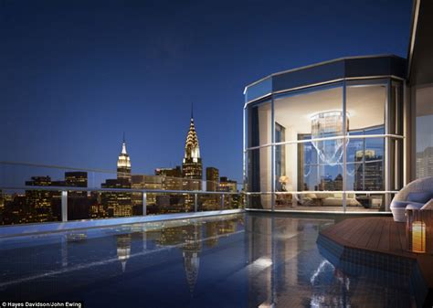 Outdoor Fireplace Uk - manhattan duplex penthouse listed for just 70 million daily mail online