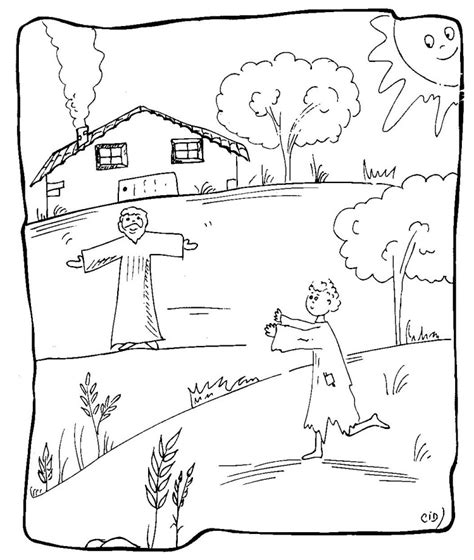Search Results For Parable Of The Prodigal Son Printables Prodigal Coloring Page