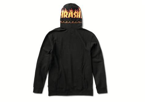 Vans Slip On Thrasher Flames thrasher x vans flames logo collection sneakerfiles