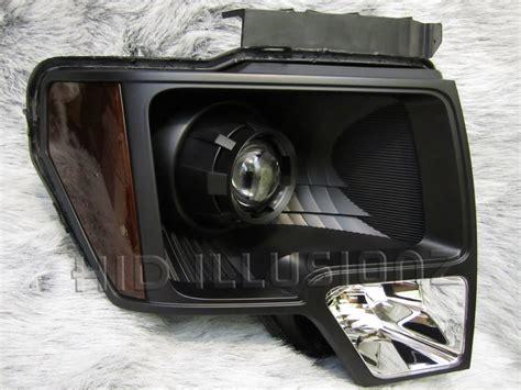 Projector Retrofit hid illusionz ford f 150 fx35 minigun projector hid