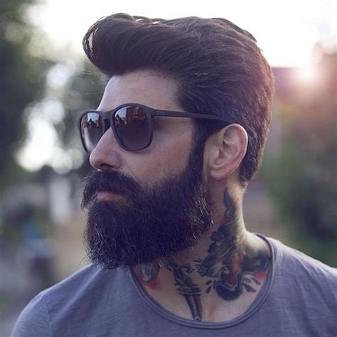 Best Hairstyle With Beard by 22 Cool Beards And Hairstyles For