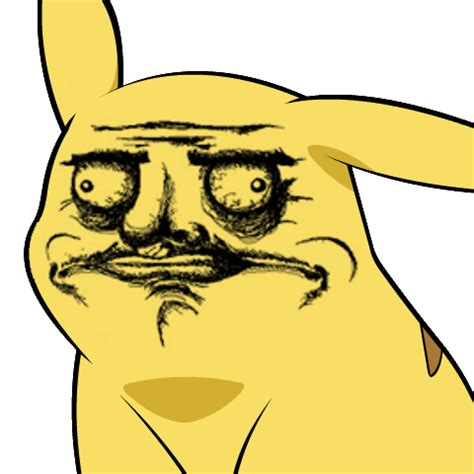 Why Meme Face - pika gusta give pikachu a face know your meme