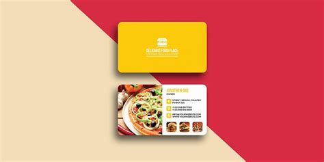 Food Business Card Templates Psd by 100 Free Business Cards Psd 187 The Best Of Free Business Cards