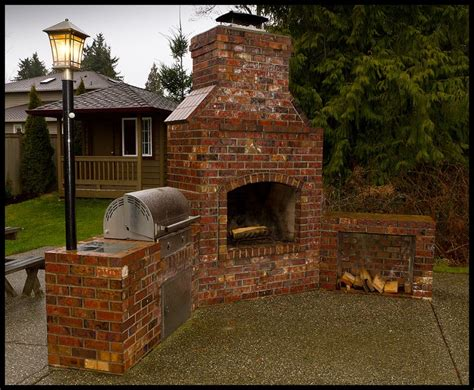 backyard brick grill design search engine at