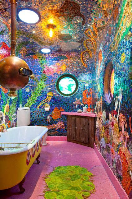 yellow submarine bathroom quot gaudi submarine quot bathroom san francisco ca eclectic bathroom san francisco