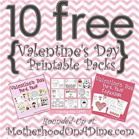 10 free s day printable packs