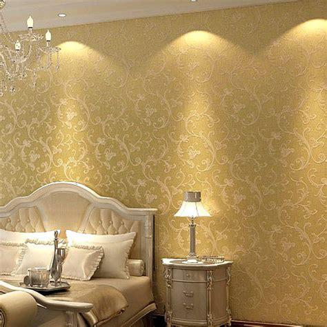 glitter wallpaper for bedroom aliexpress com buy victorian non woven wallpaper for