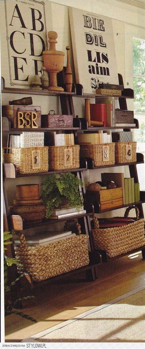 Ladder Bookshelf Decorating Ideas by Best 25 Ladder Shelf Decor Ideas On Ladder