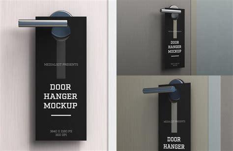 door hanger mockup   hanger door hangers quote