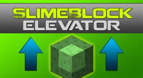 slime block tutorial cubehamster minecraft slime block elevator tutorial smp friendly