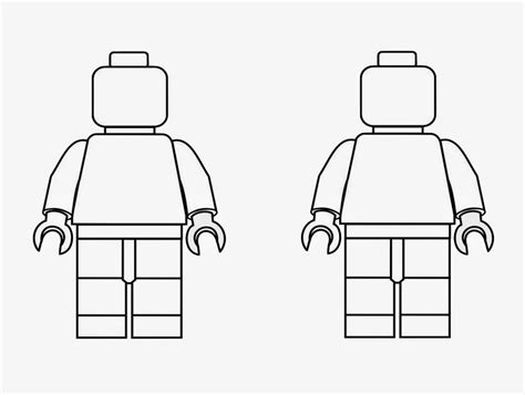 blank lego coloring pages lego blank coloring sheets clipart library