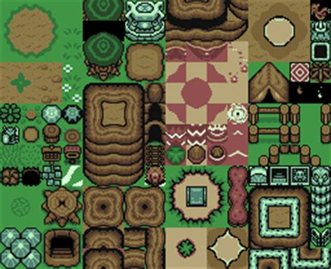 legend of zelda tilemap zelda gamekit sdk