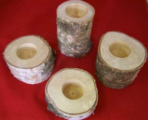 kerzenhalter für große teelichter kerzenhalter f 252 r teelichter aus birkenholz holzwerkstatt