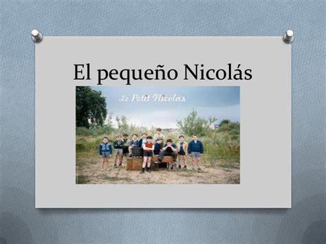 el pequeo nicols 849122114x el peque 241 o nicol 225 s d m
