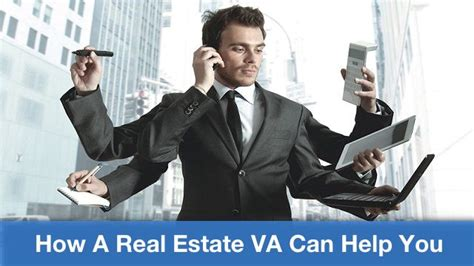 real estate va how the assistant can help you