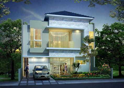 Melva 2 Warna S warna abu abu kebiruan rumah minimalis ry house karya ardiansyah basha sumber arsitag