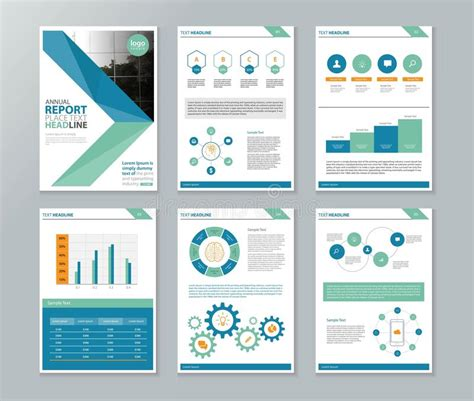 design elements report company profile annual report brochure flyer page