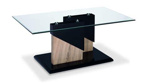 Glass Black High Gloss Wood Veneer Coffee Table Homegenies Gloss Black Coffee Table