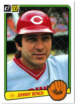 johnny bench personal life playing with my cards it pays to be random