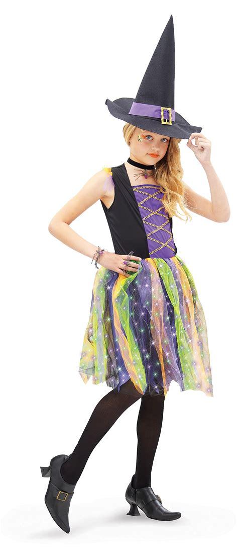 light up star costume light up rainbow witch child s costume costumes com au