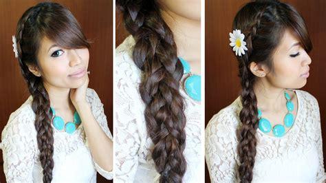 different hairstyles for long hair youtube dutch multi braid hairstyle for medium long hair tutorial