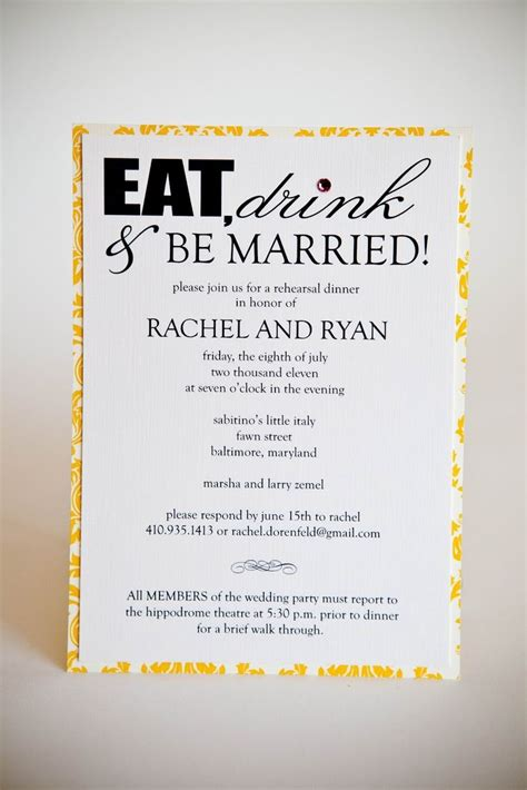 rehearsal dinner invitation template discover and save creative ideas