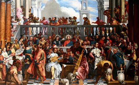 Wedding At Cana Venice by San Giorgio Maggiore Giorgio Cini Foundation Copy After